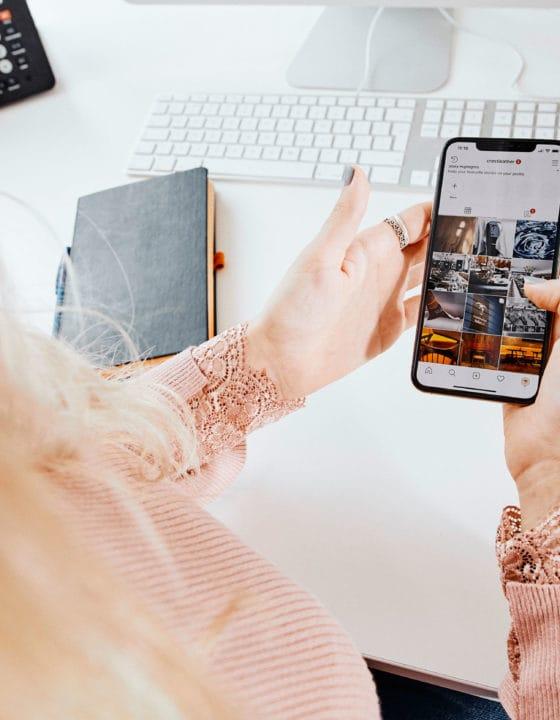 social-media-agency-reviewing-instagram